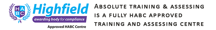 Absolute Training & Assessing Ltd is a HABC Approved Center